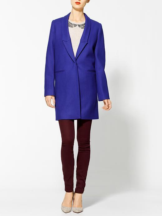 Maison Scotch One Button Coat