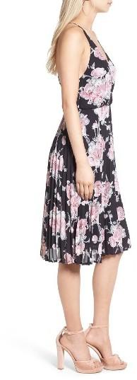 Women's Leith Surplice Floral Print Midi Dress 3
