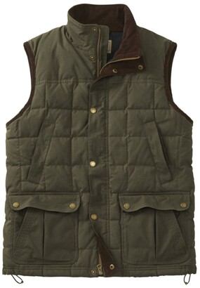 L.L. Bean Men's L.L.Bean Upcountry Waxed Cotton Down Vest