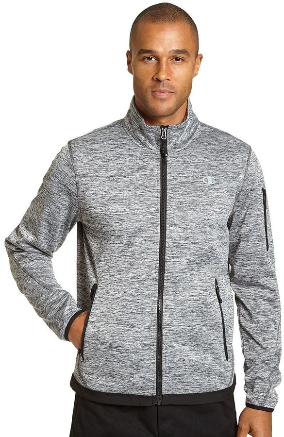 Men's Champion Bonded Knit Softshell Jacket