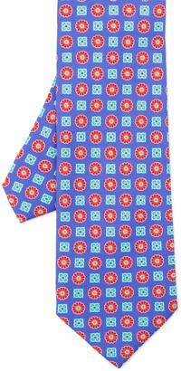 Italian Silk Twill Tie In Mini Mix Floral $95 thestylecure.com