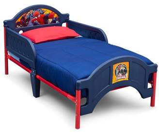 Spiderman Delta Children Marvel Plastic Toddler Bed