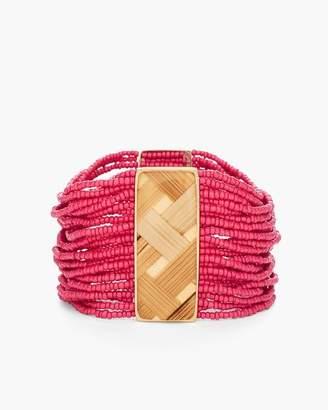 Chico's Chicos Maya Seedbead Stretch Bracelet