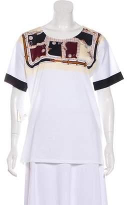 Hermes Printed Knit Shirt