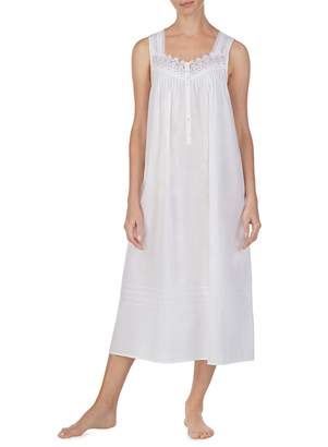 Eileen West Ballet Lace-Trimmed Nightgown