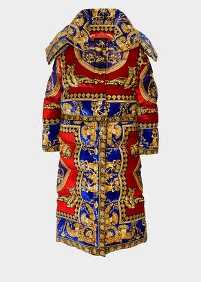 Versace Signature Pillow Talk Puffer Coat
