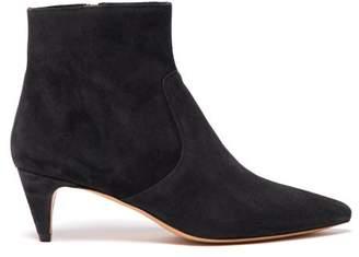Isabel Marant Derst 55 Suede Ankle Boots - Womens - Black