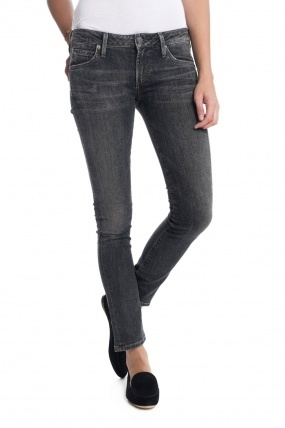Citizens of Humanity Racer Jeans Black Slash