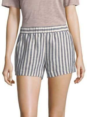 Splendid Striped Linen Shorts