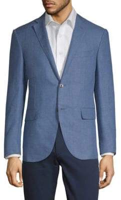 Corneliani Tonal Weave Suit Jacket