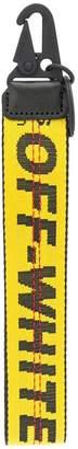 Off-White logo strap keyring