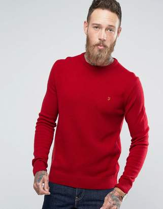 Farah Rosecroft Lambswool Sweater