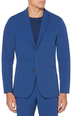 Perry Ellis Big and Tall Slim Solid Tech Blazer Jacket