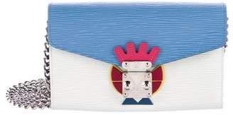 Louis Vuitton Tribal Mask Epi Chain Wallet