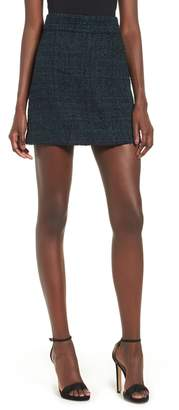 Leith Tweed Miniskirt