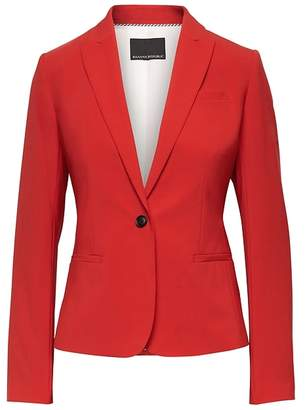 Banana Republic Classic-Fit Machine-Washable Italian Wool Blend Blazer