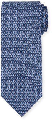 Salvatore Ferragamo Printed Silk Twill Tie