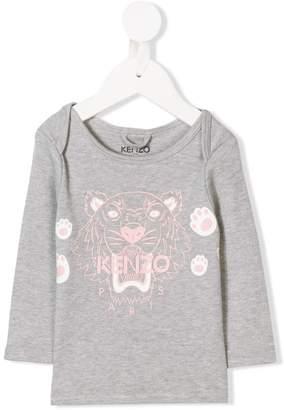 Kenzo logo print sweater