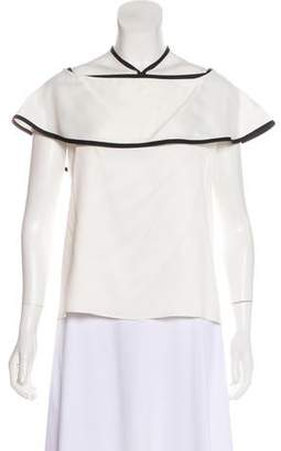 Alexis Off-The-Shoulder Ruffled Top