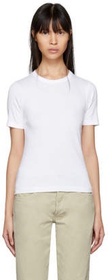 6397 White Tight T-Shirt