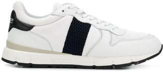 Woolrich contrast low-top sneakers