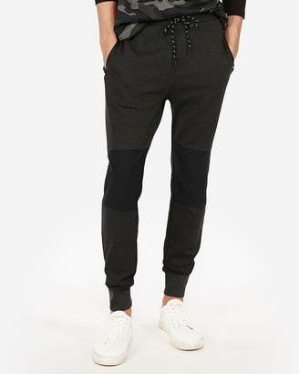 Express Solid Blocked Knee Jogger Pant