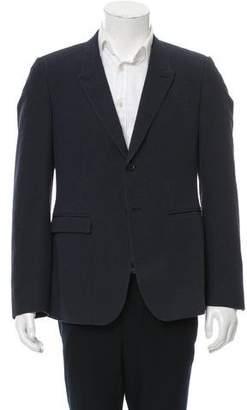 Burberry Striped Two-Button Blazer