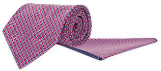 Stefano Ricci Silk Geometric Print Tie