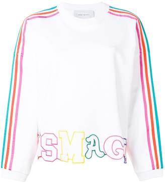 Mira Mikati It's Magic cut-out sweatshirt