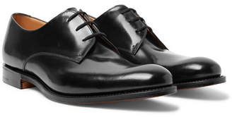 Church's Oslo Polished-Leather Derby Shoes - Black