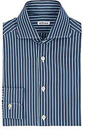 Kiton Men's Striped Cotton Dress Shirt - Stripe