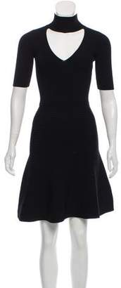 Cushnie et Ochs Short Sleeve Knit Dress w/ Tags