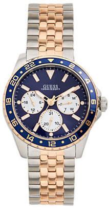 GUESS Two-Tone Chronograph Bracelet Watch