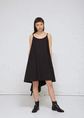 Yohji Yamamoto Back Zip Flare Dress