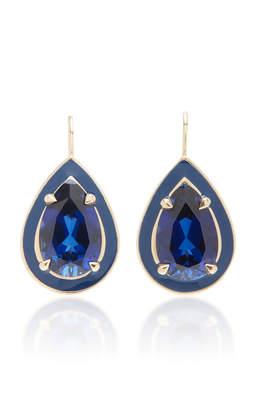 Alison Lou Sapphire Cocktail Drop Earrings