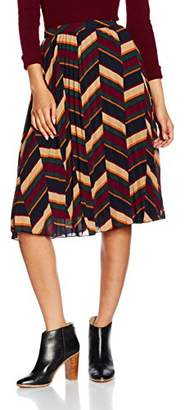 Glamorous Women's Pattern Skirt,8 (Size:X-Small)