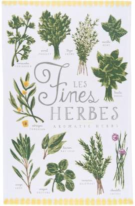 Now Designs Les Fines Herbes Cotton Dishtowel