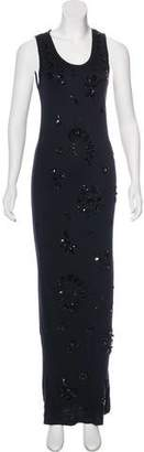 Lanvin Embellished Maxi Dress