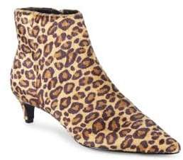 Charles by Charles David Kiss Point-Toe Faux Fur Booties