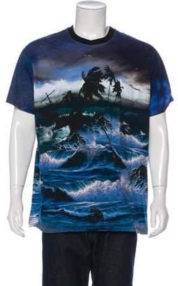 Givenchy Landscape Print T-Shirt