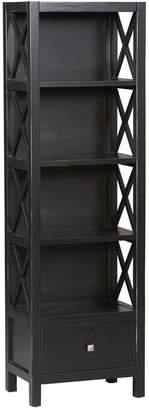 Linon Anna 5-Shelf Bookcase