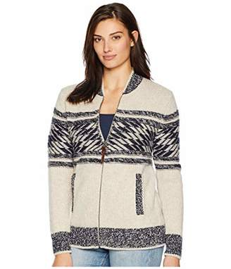 Pendleton Women's Zip Front Mesa Verde Cardigan Sweater