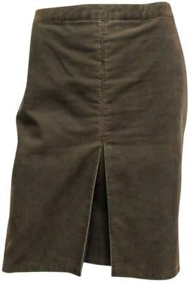 Armani Jeans Green Velvet Skirts
