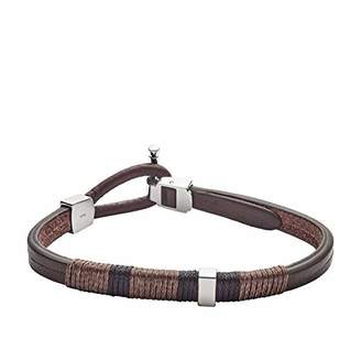 Fossil Men's Leather Bracelet