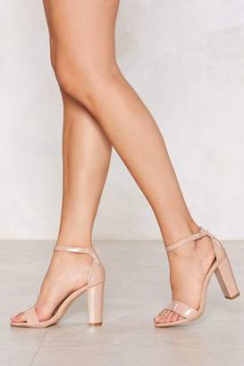 Nasty Gal Let Me Patent You a Picture Heel