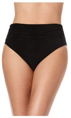 Miraclesuit Magic Suit by Solid Bottom Jersey Shirred Brief