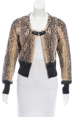 Tracy Reese Open Front Knit Cardigan