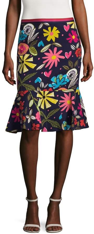Trina Turk Women's Alina Printed Skirt