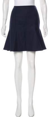 Versace Wool Mini Skirt