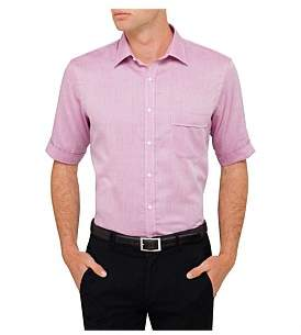 Van Heusen Short Sleeve Nailhead Shirt